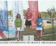 Championne de France !